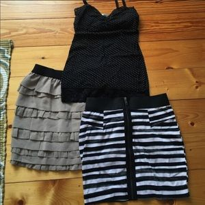 Dresses & Skirts - Striped mini skirt